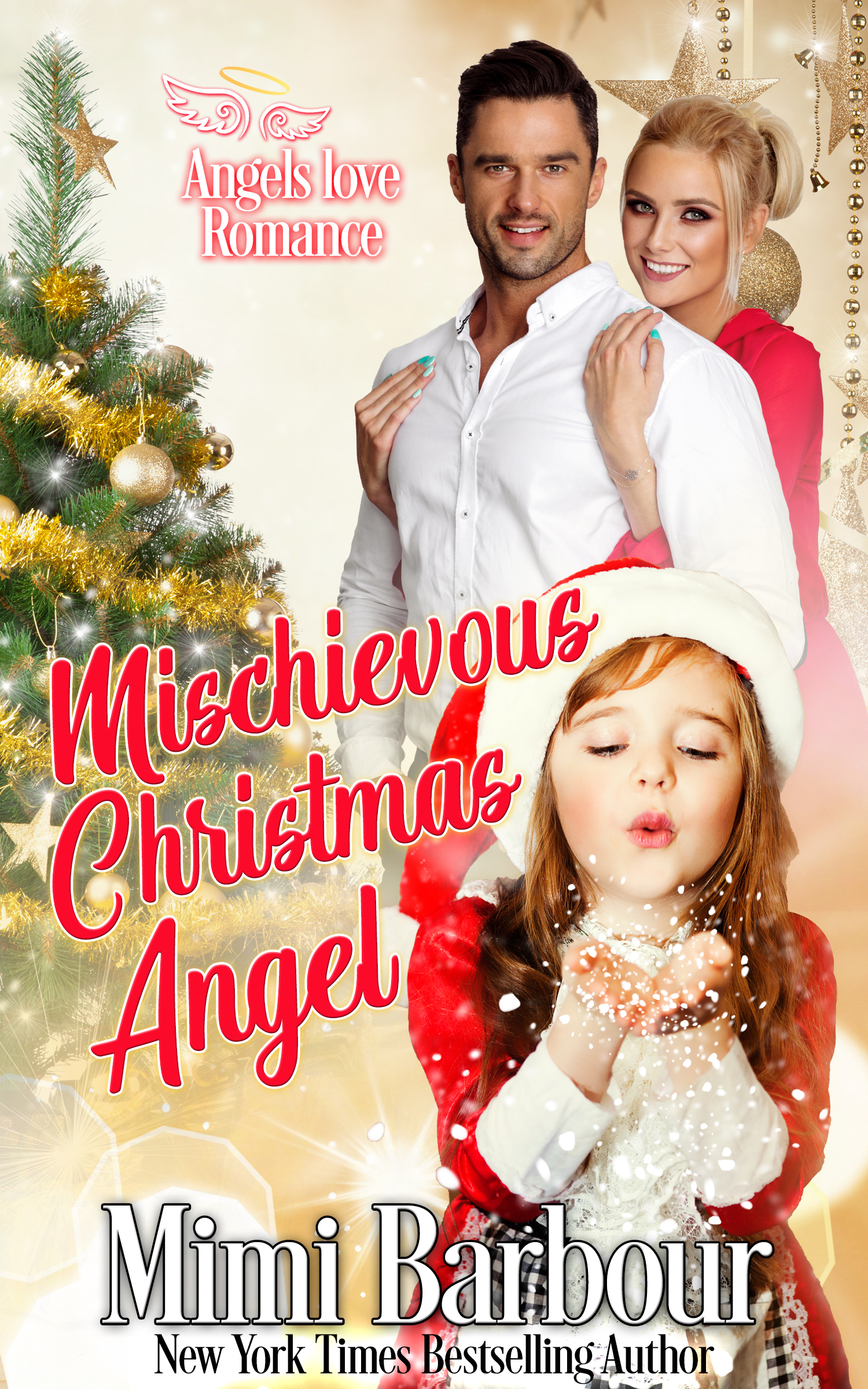 Mischievous Christmas Angel cover
